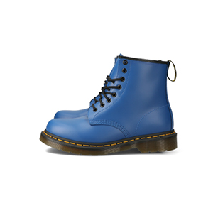 blue shoe product photography